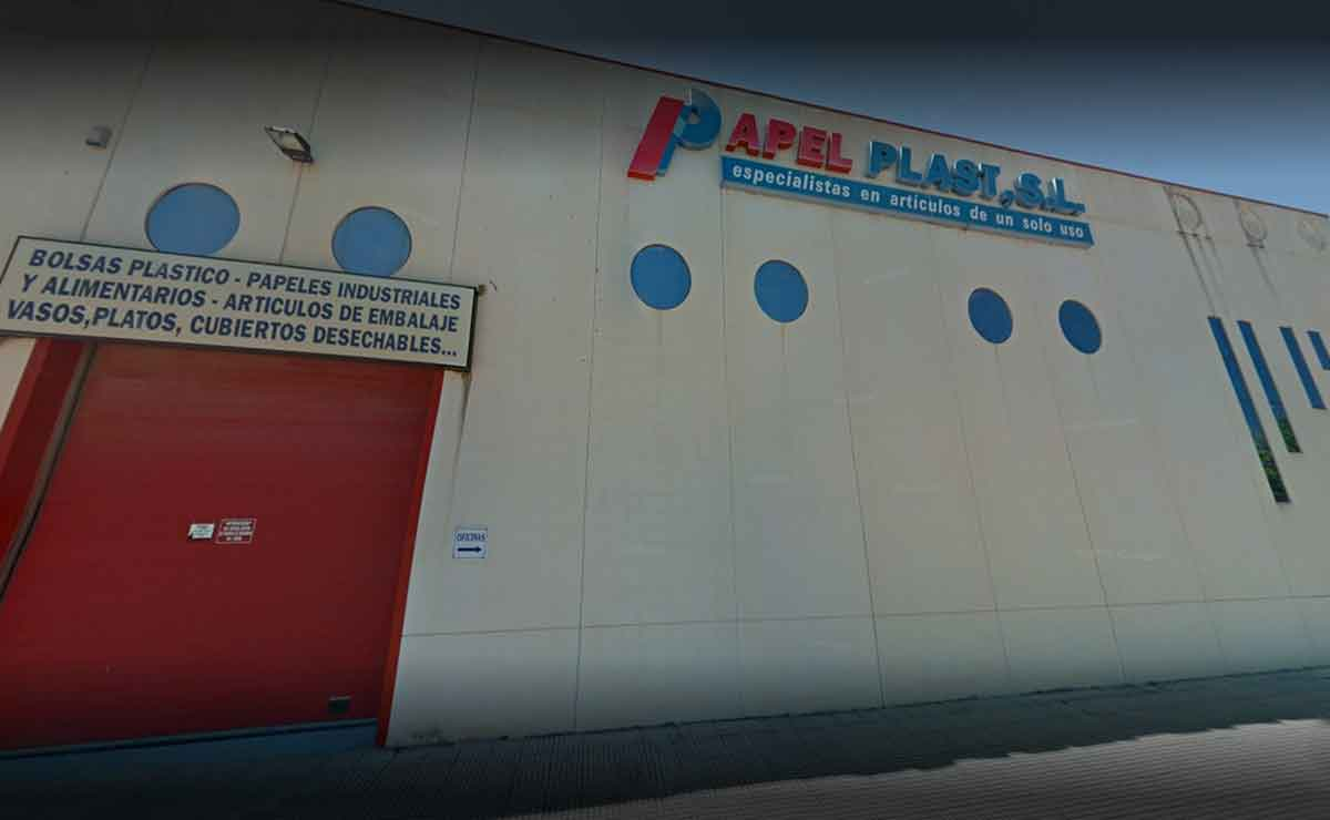 fábrica PAPEL PLAST