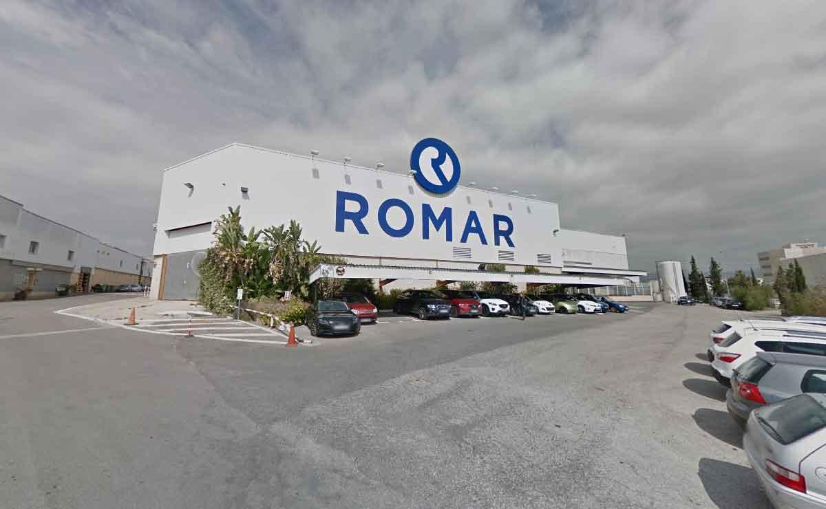 Fábrica de ROMAR en Náquera