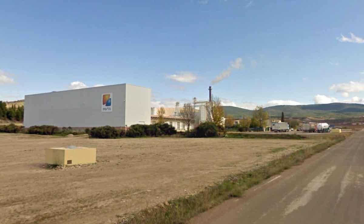 Fábrica de MYTA en Orera, Zaragoza