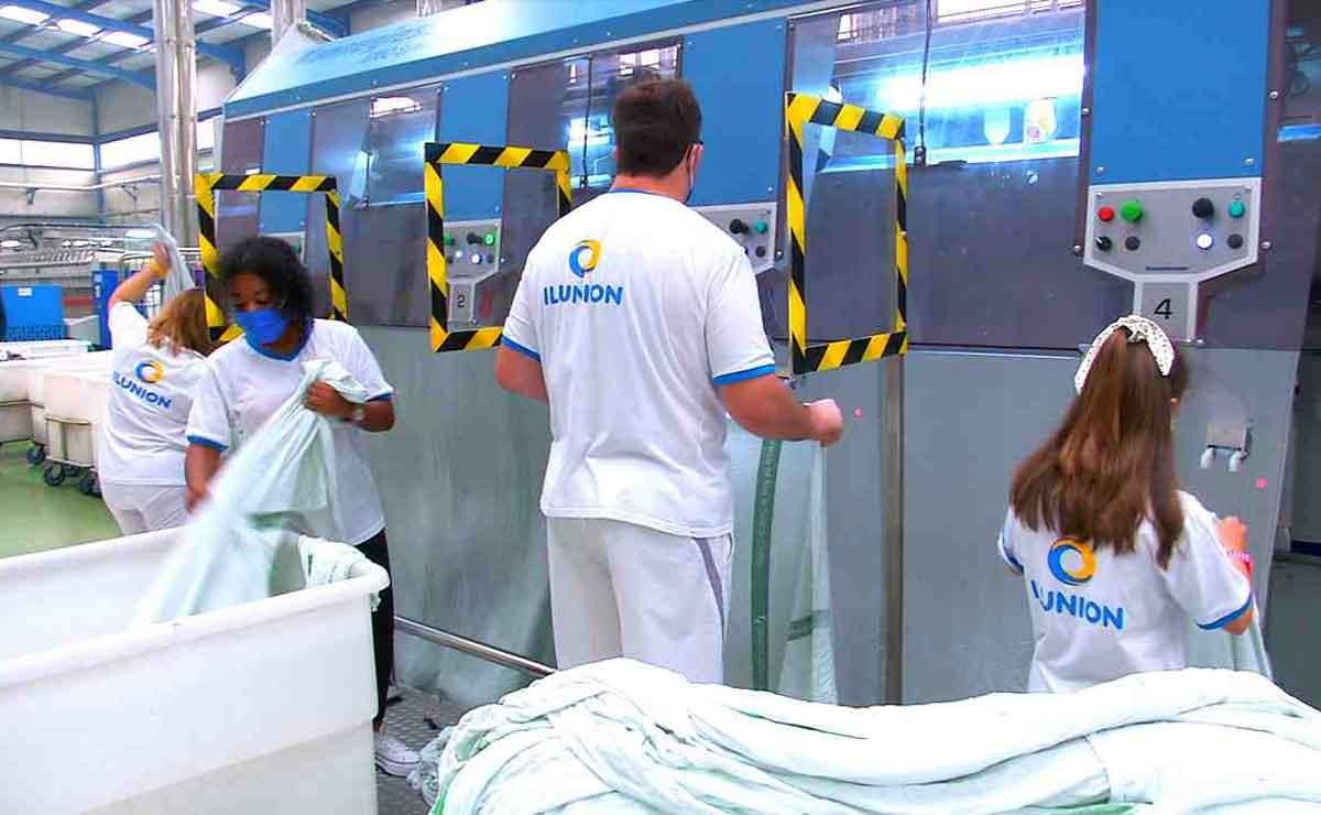 Trabajar en ILUNION Lavanderías