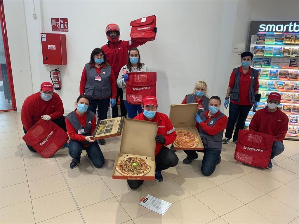 empleo en Telepizza