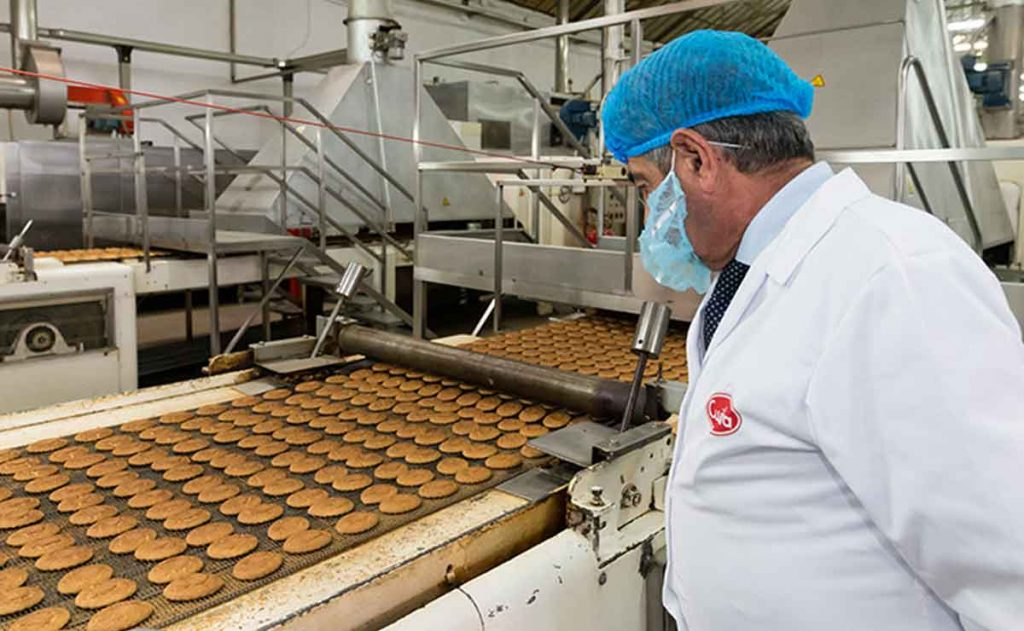 empleo fábrica de Cuétara