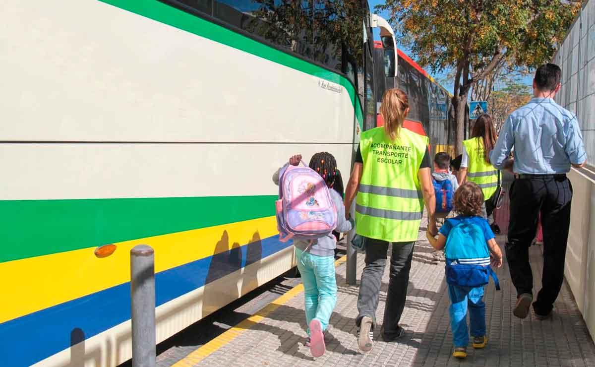 Empleo transporte escolar en Granada