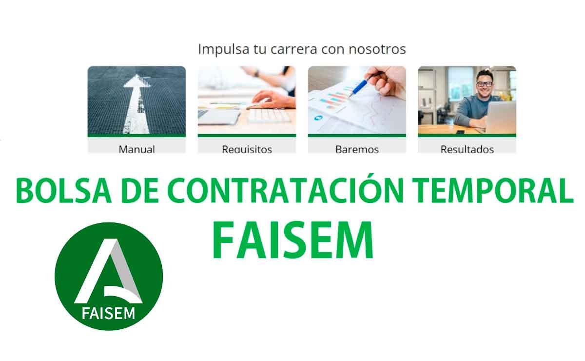 Fundación FAISEM bolsa de empleo