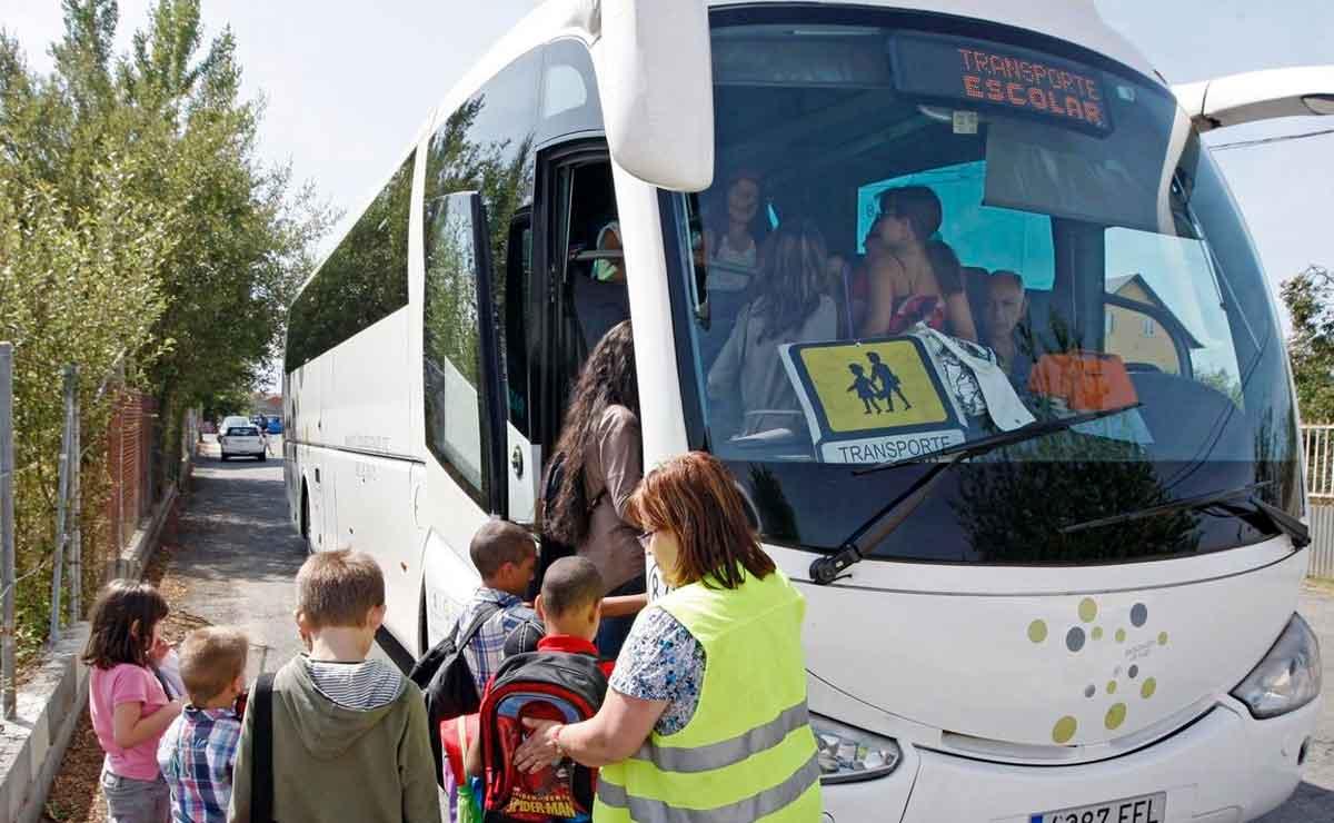 empleo como monitor de trasporte escolar en Sevilla