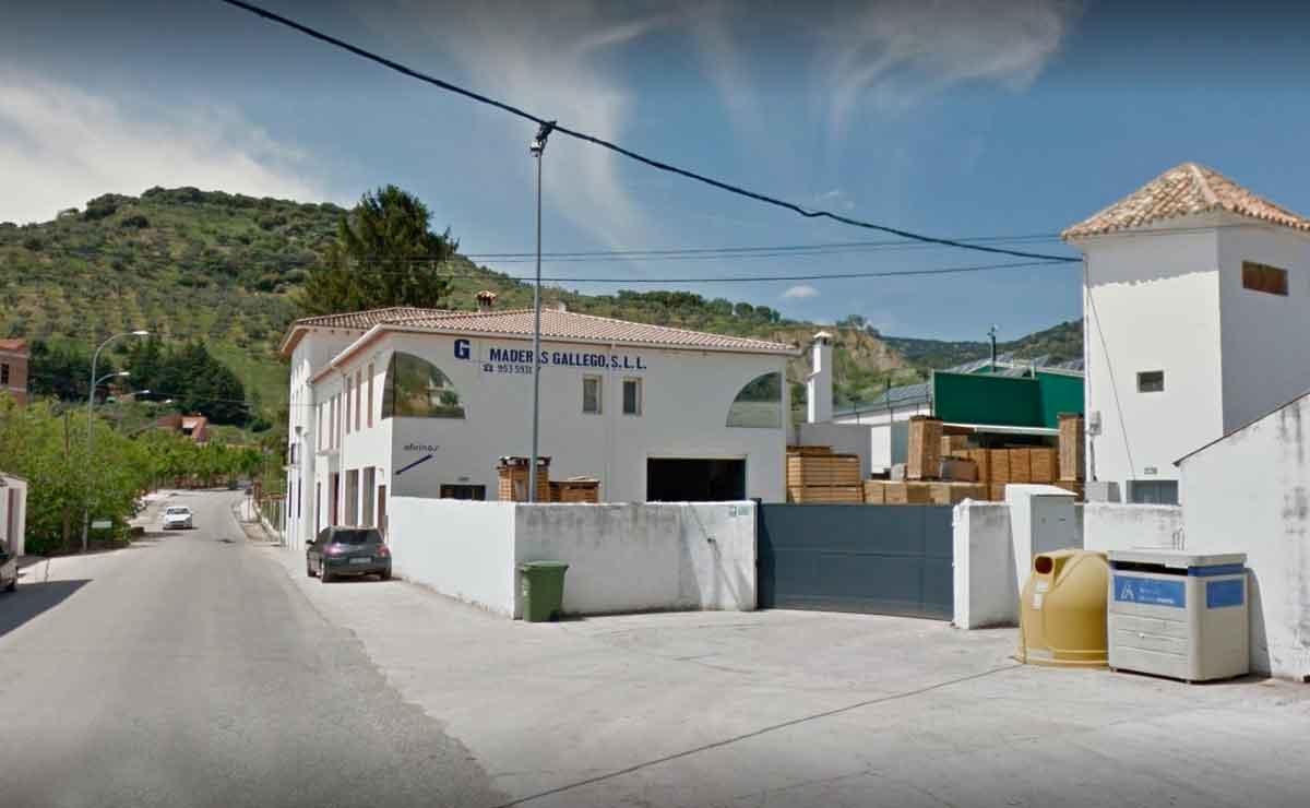 fábrica Maderas Gallego en Frailes