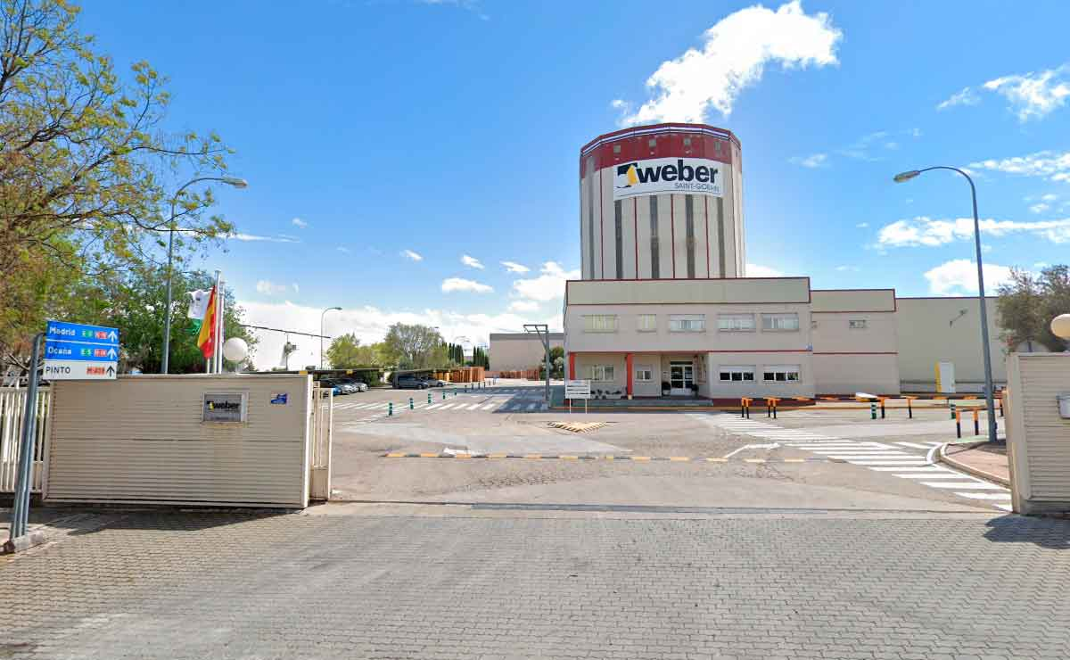 Fábrica de Morteros WEBER en Pinto