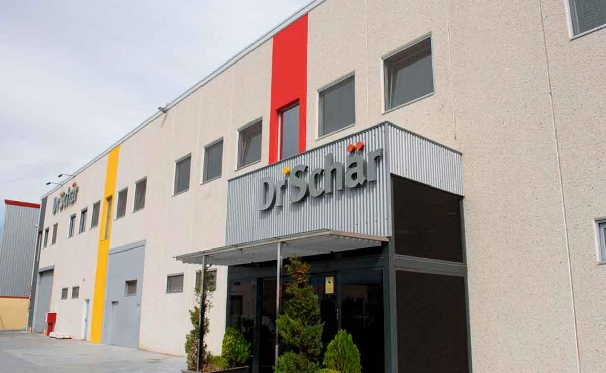 fábrica de Dr. Schär en Alagón (Zaragoza)