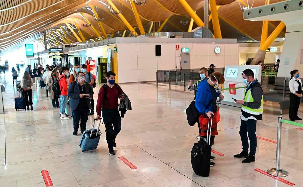 trabajar en el aeropuerto Madrid Barajas