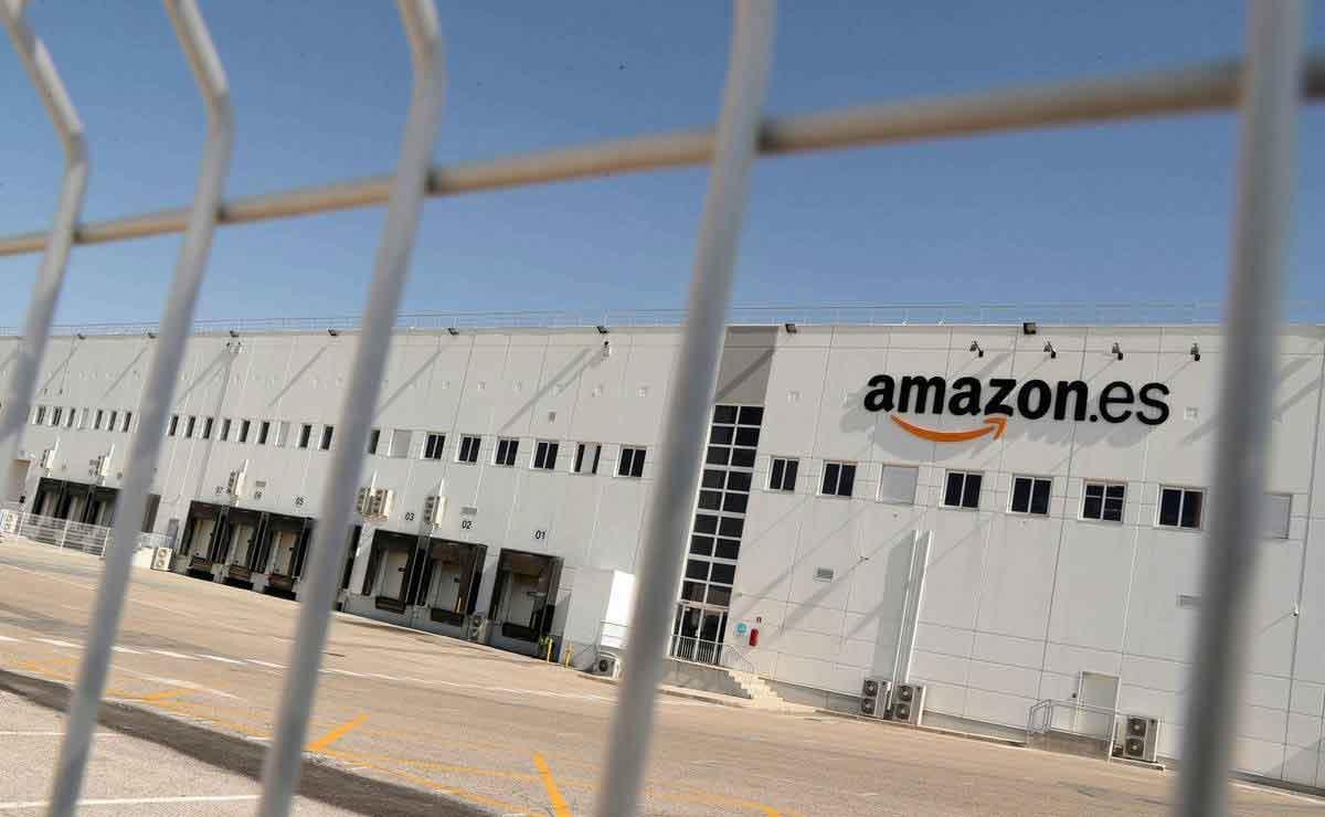 nueva estación logística de Amazon en Zaragoza