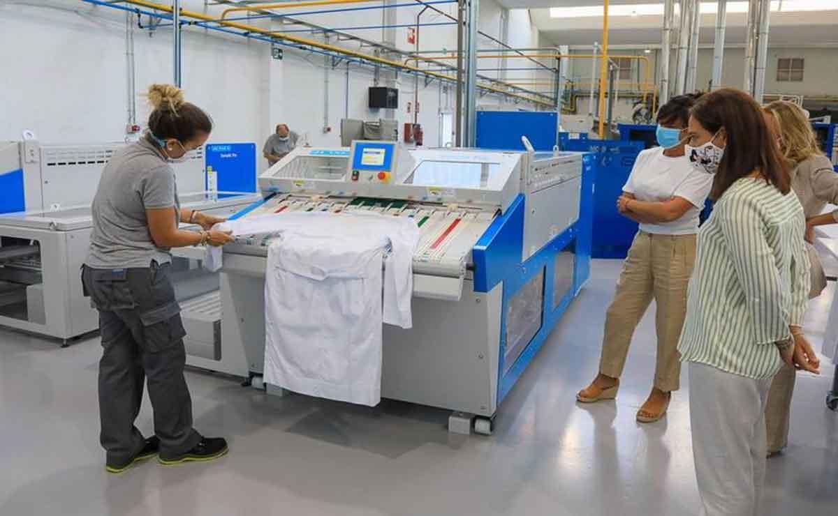 Empleo en empresa textil en Madrid