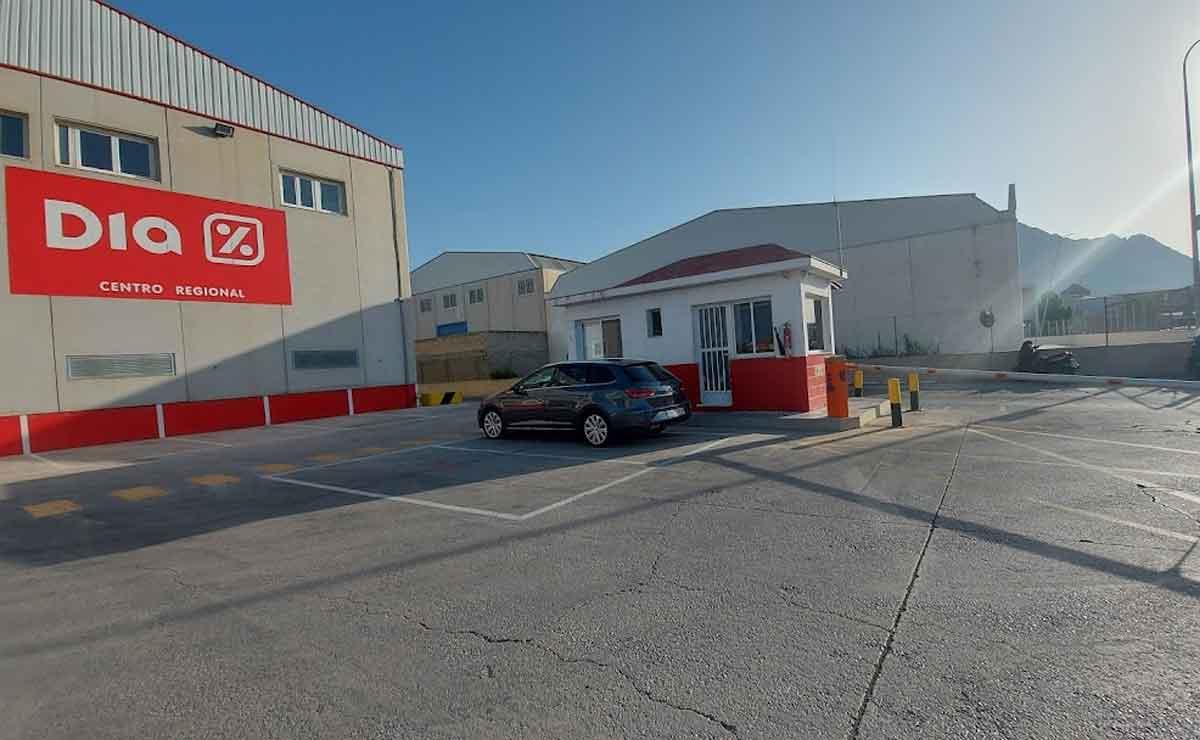 centro logístico DIA Orihuela