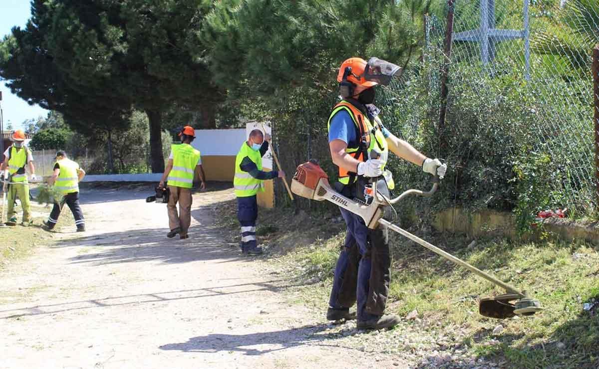 Empleo en Huelva como peón forestal